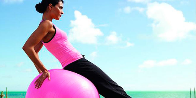 Legs-Glutes Exercises with Stability Ball