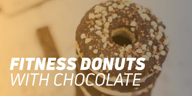 Fitness Donuts with Chocolate