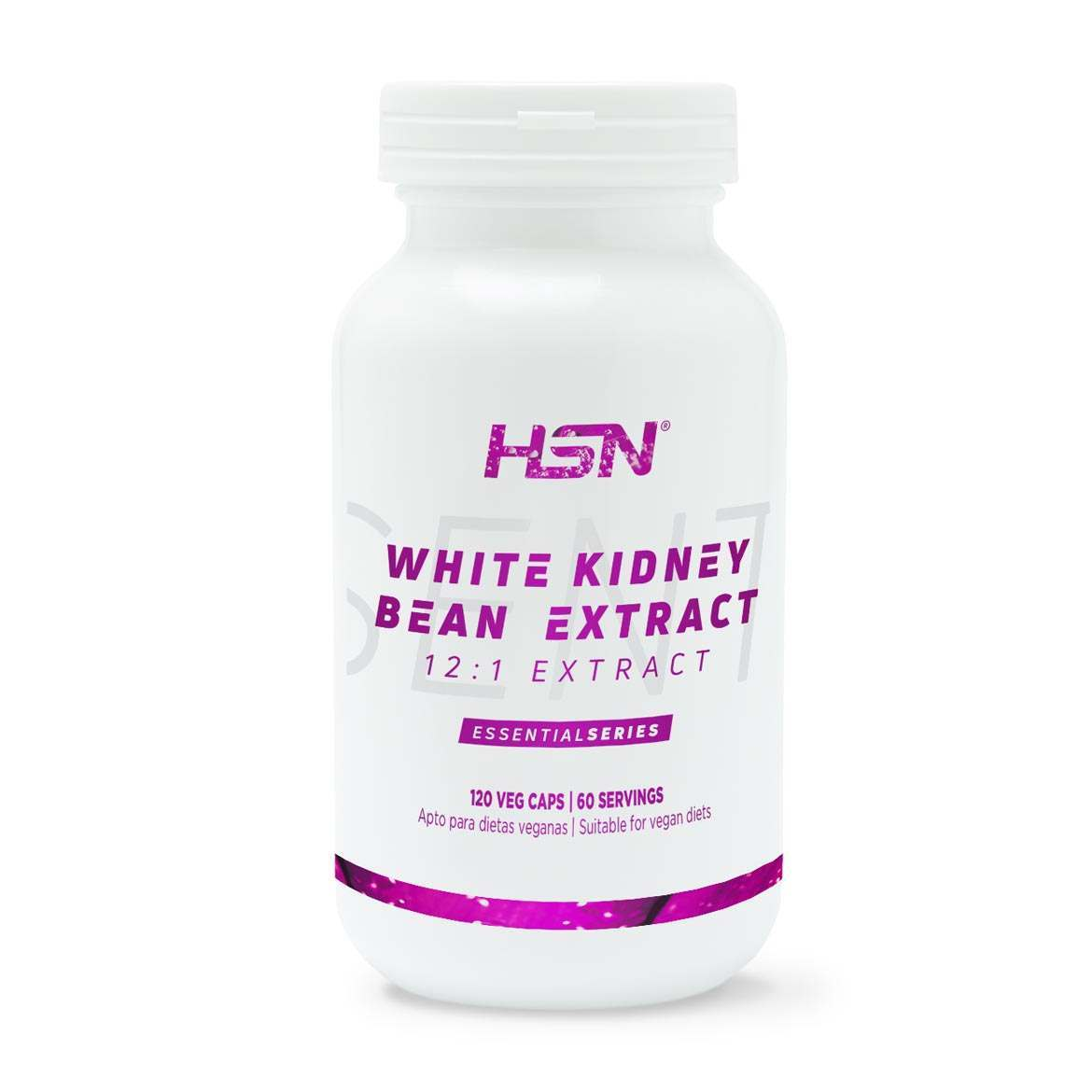 White Kidney Bean Extract 12 1 500mg Hsn Essentials